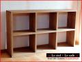 カントリー家具ロータイプ本棚