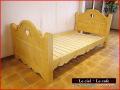 カントリー家具シングルベッド