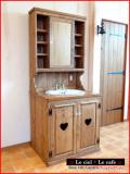カントリー家具洗面台ウォッシュスタンド