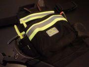 CLC  Hi-Viz 10-Pocket Nail and Tool Bag with Poly Web Belt