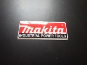 Makita Industrial Power Tools Stickers -Small