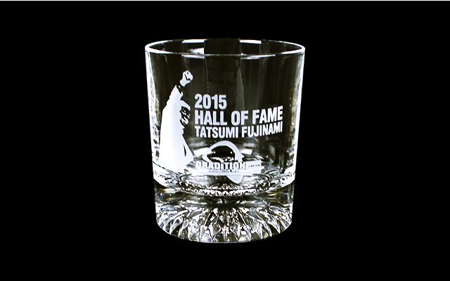 藤波辰爾「2015 HALL OF FLAME 受賞記念」 クッション