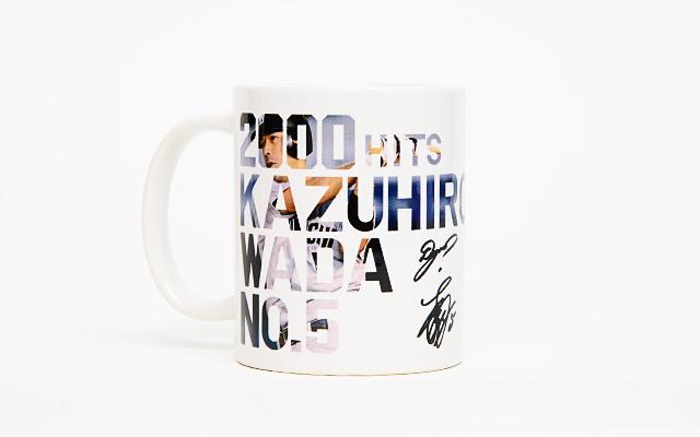 中日ドラゴンズ和田一浩選手 2000本安打達成記念マグカップ(限定500個)