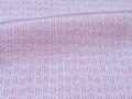 浅紫色、矢羽根文様の江戸小紋 【4404】