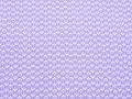 淡紫色 ならび桐紋 江戸小紋