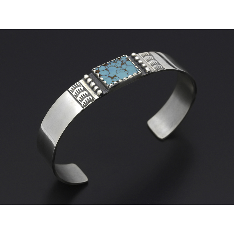 Square Turquoise Bangle