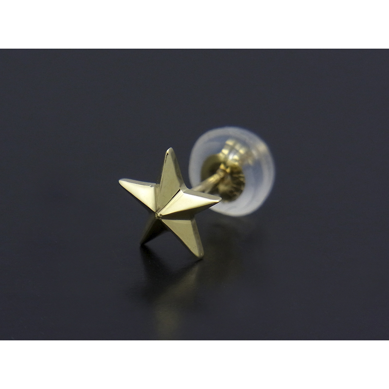 Star Pierce - K18Yellow Gold