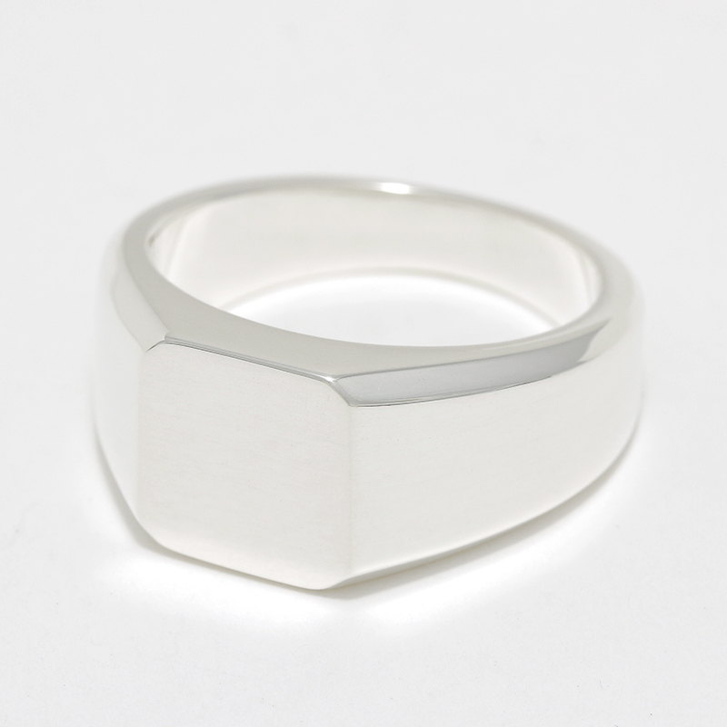 Small Signet Ring - Silver
