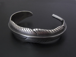 Large Feather Bangle
