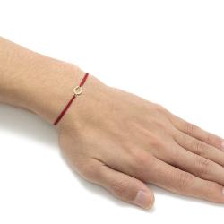 Small Horseshoe Cord Bracelet