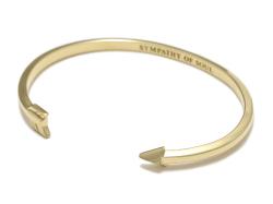Small Arrow Bangle - K18Yellow Gold
