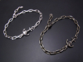 Anchor Chain Bracelet - Silver