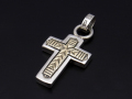 BRUCE MORGAN × SYMPATHY OF SOUL Collaboration Cross Pendant - S