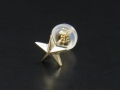 Star Pierce - K10Yellow Gold