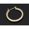 Plain Hoop Pierce - K10Yellow Gold
