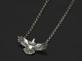 Eagle Necklace - Silver