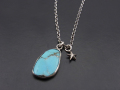 ATELIER MADE Arizona Turquoise Necklace - Silver