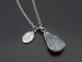 ATELIER MADE Boulder Opal Necklace - Silver