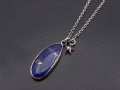ATELIER MADE Lapis Lazuli Necklace - Silver