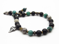 M.Cohen��SYMPATHY OF SOUL Beads Bracelet w/Shark Tooth