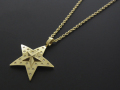 Marbles×SYMPATHY OF SOUL Collaboration Star Necklace - K18Yellow Gold w/Diamond