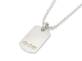 Hall Mark Dog Tag - Silver
