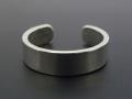 Plain Toe Ring - Silver