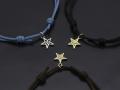 Cord Bracelet�� Star Charm