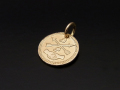 Friendship Coin Charm - K10Yellow Gold