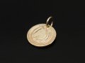 Ever Fortune Coin Charm - K10Yellow Gold