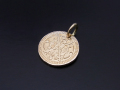 Bless Coin Charm - K10Yellow Gold