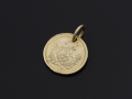 Good Luck Coin Charm - K10Yellow Gold