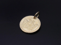 Good Luck Coin Charm - K18Yellow Gold