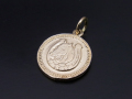 Medium Ever Fortune Coin Charm - K10Yellow Gold