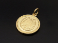 Medium Ever Fortune Coin Charm - K18Yellow Gold