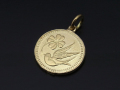Medium Liberty Swallow Coin Charm - K18Yellow Gold