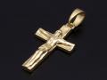 Large Divine Cross Pendant - K18Yellow Gold