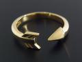 Arrow Ring - K18 Yellow Gold
