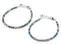 MOKUME Slice Beads Bracelet
