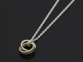 Eternal Carving Ring Necklace