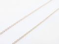 K10 Yellow Gold 0.38 Chain - 40cm