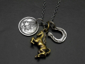 Multi Charm Necklace - Horse