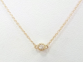 Little Diamond Necklace - K10Yellow Gold