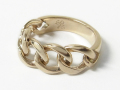 Unity Chain Ring - K10Yellow Gold