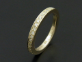 Eternity Ring - K10 Yellow Gold w/Diamond