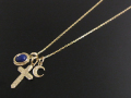 Celestial Necklace - K10Yellow Gold
