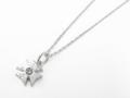 Web限定 Iron Cross Necklace w/Ash Diamond