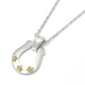Star Hoseshoe Necklace