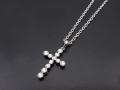 Multi Symbol Cross Necklace
