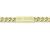 Small ID Chain Bracelet - K18Yellow Gold w/Diamond